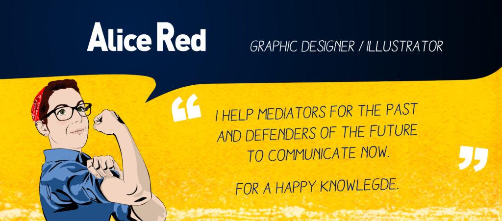 Alice Red graphic designer